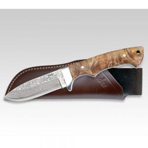 Holz Damast Jagdmesser