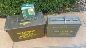 Munitionskiste Metall US kaufen Militärkiste groß