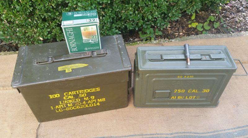 Munitionskiste Metall Holz US kaufen